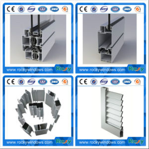 High Quality Aluminium Extrusions Profiles with Rocky Brand pictures & photos