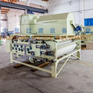 Belt Filter Press with Drum Thickening System Dny1500 Series pictures & photos