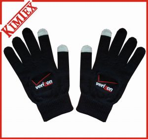 100% Acrylic Promotion Knitted Screen Texting Glove pictures & photos