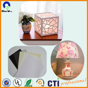 White PVC Plastic Rigid Film for Lampshade pictures & photos