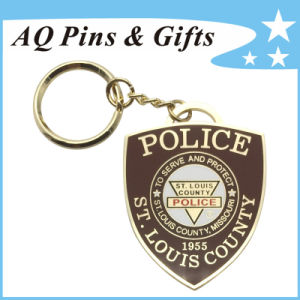 Plice Key Chain with Soft Enamel (Key Chain-196) pictures & photos