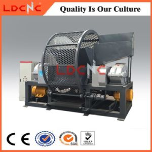 Waste Truck Rubber Tyre Shredder Machine Manufacturer pictures & photos