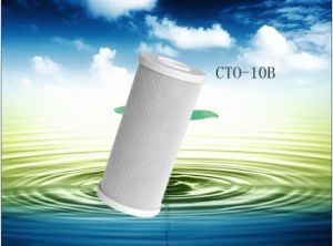 New 2014 Universal Water Filter Activated Carbon Cartridge, 10 Inch CTO-10b Block Carbon Filter Sediment Water Purification System pictures & photos