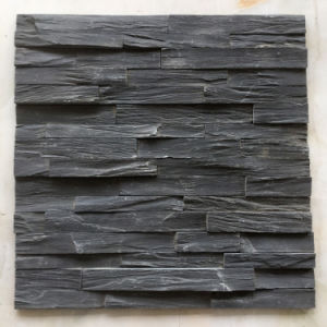 Black Slate Rough Eadge Culture Stone Veneers (SMC-SCP316) pictures & photos