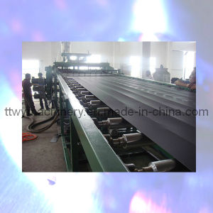 Ce High Quality Multilayer PE Sheet Plastic Manufacturing Machine Sj-120/34 pictures & photos
