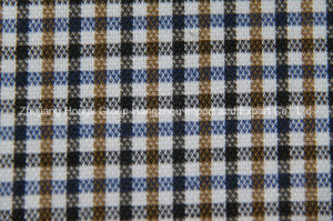 Yarn Dyed T/R Fabric, 65% Polyester, 32% Rayon and 3% Spandex pictures & photos