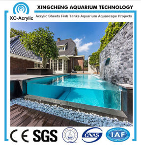 Transparent PMMA Swimming Pool for Elite Housing pictures & photos