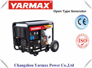 Yarmax Cheap Price 6kVA 6.5kVA Open Type Diesel Generator Set Diesel Engine Genset pictures & photos