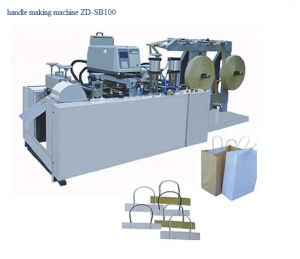 Paper Rope Handle Making Machine (ZD-SB100) pictures & photos