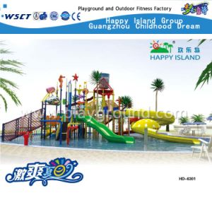 Newest Water Park Combination Water Slide Water House (HD-6202) pictures & photos
