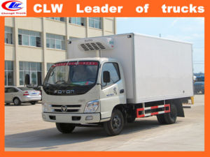 Foton 4*2 Refrigerated Truck 6 Wheeler Ice Cream Truck pictures & photos