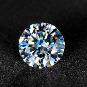 Wholesale Synthetic Moissanite Diamonds Loose Round Brilliant Cut 5.0mm 0.50CT Vvs / G-H Factory Price