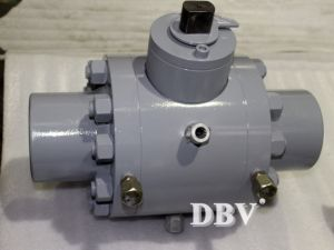 A105 3000psi 3inch Sw Floating Ball Valve for High Pressure pictures & photos