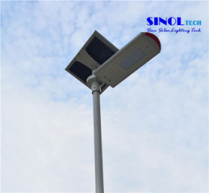 Split Type 30W Integrated Solar LED Street Lights (SNF-230) pictures & photos