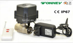 Pohs/NSF Miniature Wireless Controller and Water Valve with Automatic Water Shut off System pictures & photos