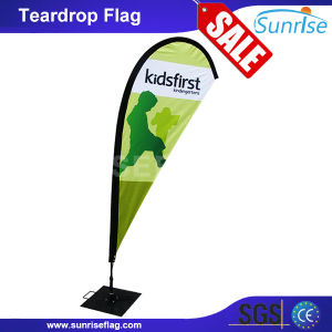 Factory Custom Outdoor Advertising Wind Teardrop Flag Banner pictures & photos