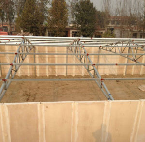Prefabricated Steel Structure Poultry House/Light Steel Structure Chicken House pictures & photos