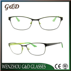 Latest Design Metal Eyewear Eyeglass Optical Frame 52-078 pictures & photos