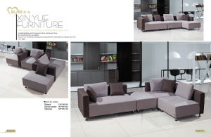 Fabric Modern Living Room Hotel Bedroom Sofa