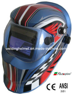 Adjustable Shade Number/Grinding Mode Welding Helmet (W1190DB) pictures & photos