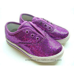 2017 Fashion Glitter Toddler Kids Shoes (ET-WT170443K) pictures & photos