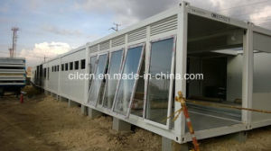 Flat Pack Container with Large Windows pictures & photos