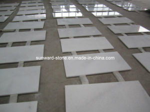 Crystal White A Grade Marble Tiles for Flooring