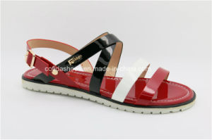 Latest Fashion Lady Flat Sandals pictures & photos
