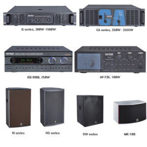 Kb-9900 Top Sale 180 Watts Digital Echo Karaoke High Power Amplifier pictures & photos