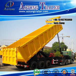 Tri-Axle Dump Semi-Trailer/Tipper Trailer /Tipping Semi Trailer pictures & photos