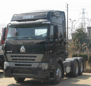 HOWO A7 6X4 Driving High Roof Tractor Truck pictures & photos