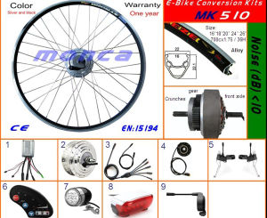 Superior Quality Electric Bike Conversion Kit with 200W-1000W High Speed Brushless Motor pictures & photos