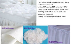 Anti-Bacterical Mattress Protector pictures & photos
