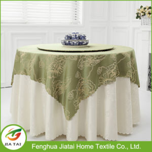 Custom Printed Polyester Tablecloth Cheap Round Tablecloth pictures & photos