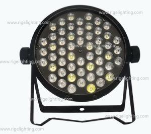 Cheap 54X1w RGBW Flat Slim Stage LED PAR64 Light pictures & photos