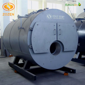 Packaged Diesel Fired Wet Back Steam Boiler with CE