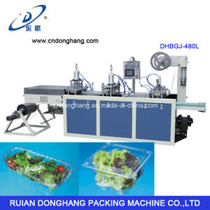 Plastic Machinery for Retangular Plastic Pet Salad Bowl pictures & photos