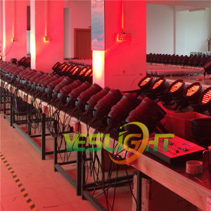 latest Stage LED PAR64 36PCS*3W RGB Tri LED Edison Brand Ce, RoHS Approved pictures & photos