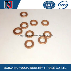 China Fasteners Good Price High quality Metal Zinc Plain Hot DIP Galvanized Flat Washers pictures & photos