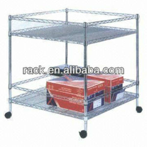 Adjustable Chrome Office Storage Wire Rack pictures & photos