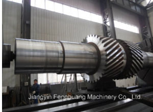High Quality Big Size Gear Shaft pictures & photos