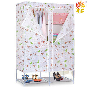 Bedroom Wardrobe with Non-Woven Closet