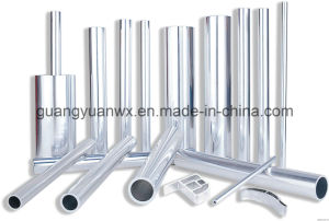 Polished 7075 Aluminum Round Tube pictures & photos