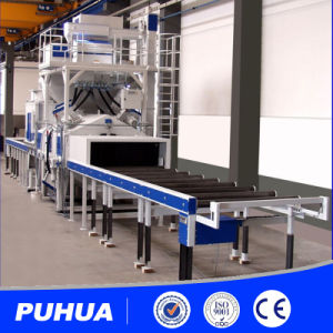H Beam Profile Shot Blasting Machine for Steel Structure pictures & photos