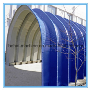 Bohai Screw-Jointed Arch Building Roll Forming Machine pictures & photos