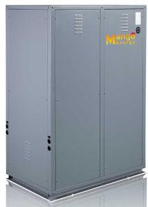Extramely Cold -25c Winter Floor Heating Split Evi Tech. 12kw 19kw Hot Water Water Source Heat Pump pictures & photos