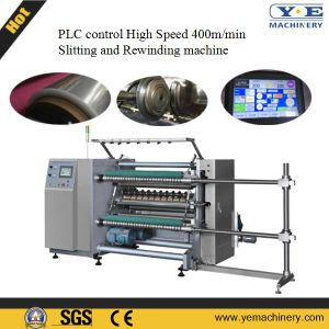 Ruian High Speed Slitting Machine for Plastic Film pictures & photos