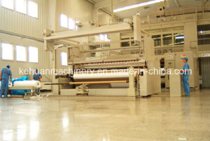 3.2m Three Die PP Spunbond Non Woven Making Plant pictures & photos