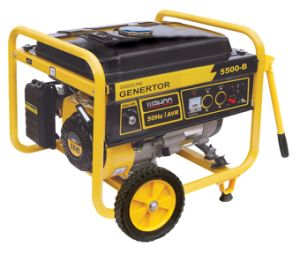CE GS Approve 4 Stroke Air Cool Gasoline Generator 4kw 4.5kw pictures & photos