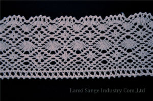 Cheap Cotton Crochet Lace for Home Textile pictures & photos